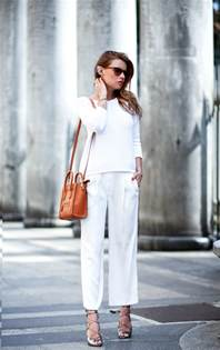 all white how to wear white and the to copy for summer just the design