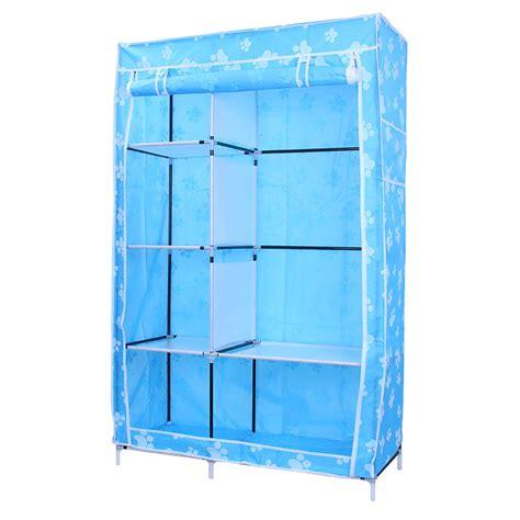 Lemari Baju 3 Sisi 3kg 105 ntox lemari plastik lemari kain oxford 3 sisi