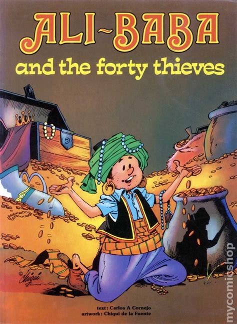 Alibaba And The Forty Thieves | ali baba and the forty thieves gn 1978 comic books