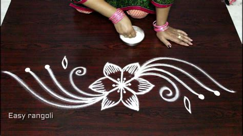 side designs creative and easy rangoli side designs muggulu side