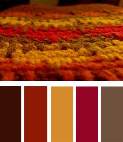 autumn color palette color themes