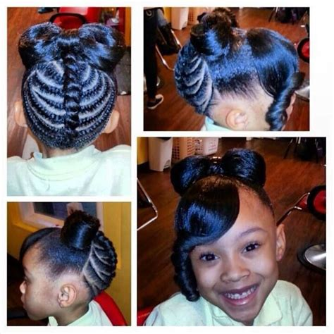 growing short hair into a bo little girl hairstyle minnie bow for the kids
