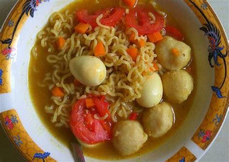 Mie Kari resep mie sop kari oleh rinnisgood cookpad