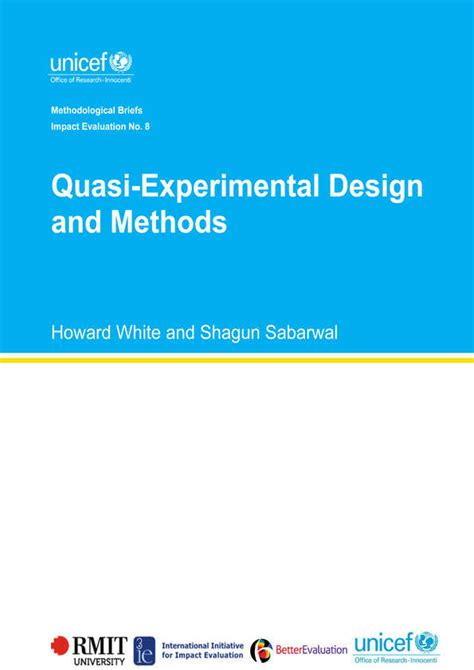 quasi design meaning methodological briefs