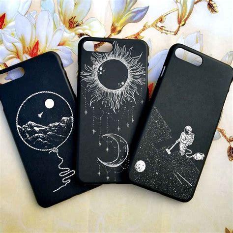 iphone  case tumblr moon space jar astronaut cat