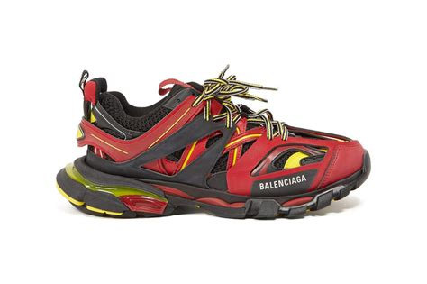 balenciaga track sneakers quot black yellow quot release hypebeast