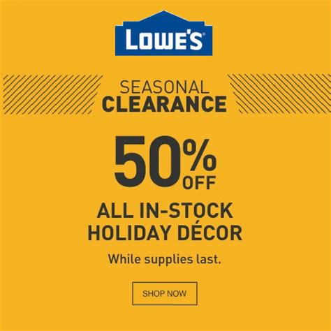 lowes after christmas clearance lowe s 50 decor mybargainbuddy