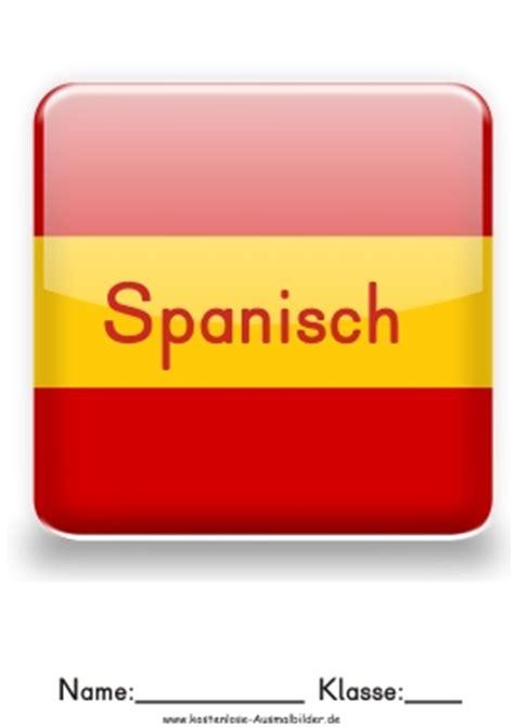 deckblatt spanisch mappe anschreiben 2018