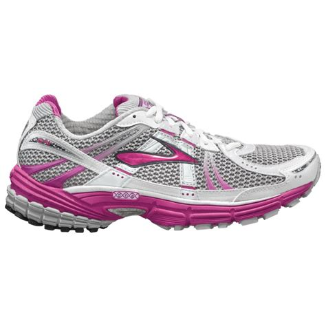 adrenaline womens running shoes adrenaline gts 12 road running shoes white pink s at