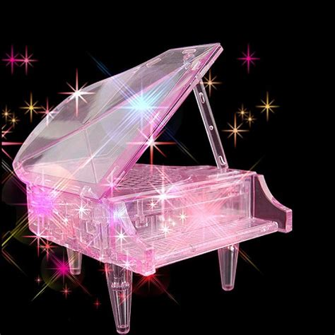 piano with light up 3d piano puzzle light up musical end 11 17 2018