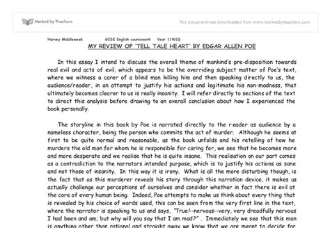 Tell Tale Essay by Tell Tale Guilt Essay