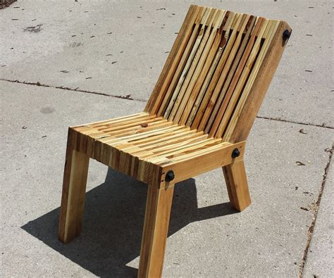 reclined pallet wood chair 11 steps with pictures