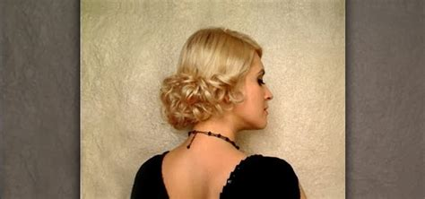 hi low curly hairdo how to create an elegant low curly bun hairstyle for a