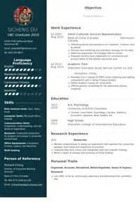 customer services resume sles visualcv resume sles
