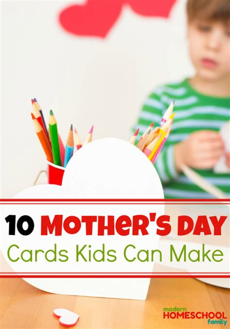 s day card maker s day cards can make modern homeschool family