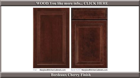 kitchen cabinet styles and finishes 620 cherry cabinet door styles and finishes maryland