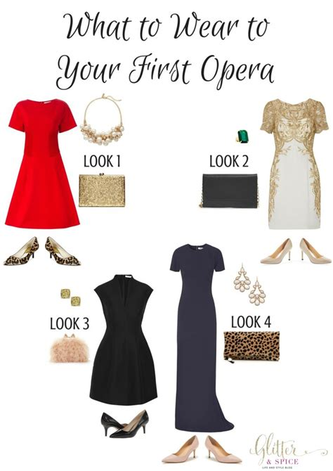 what to wear to what to wear to your opera glitter spice
