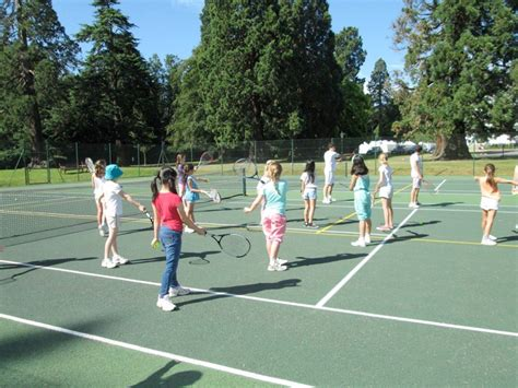 backyard tennis game outdoor sports and games 187 heathfield summer school