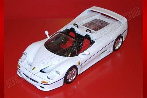 Bburago 1996 Ferrari Ferrari F50 Spider   WHITE   White
