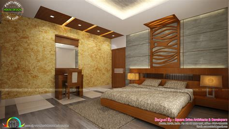Kerala Bedroom Interior Design Living Room Sitting And Bedroom Interiors Kerala Home Design And Floor Plans