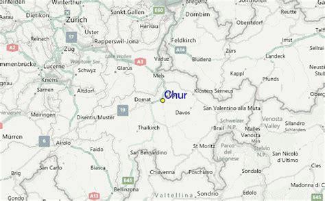 chur map chur ski resort guide location map chur ski