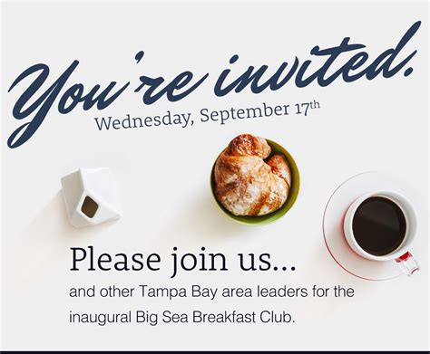 Invitation Letter For Breakfast Meeting Breakfast Invitation Template Futureclim Info