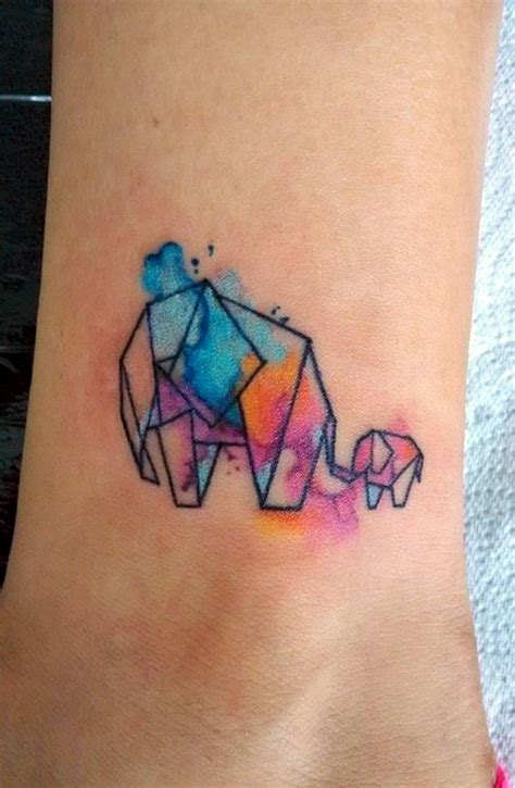 origami elephant tattoo 40 lovely origami designs in trend