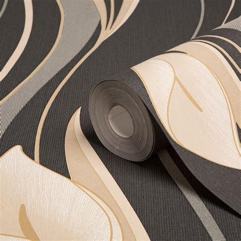 superfresco wallpaper black and white graham brown superfresco black cream floral wallpaper
