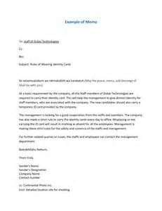 Memo Format In Email 9 Best Images Of Memo Format With Cc Sle Employee Memo Sle Business Memo Exles And