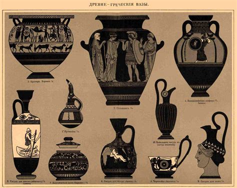 forme dei vasi greci