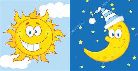 Imagenes De Sol Y Luna Animadas | sol y luna mascota personajes de dibujos animados foto