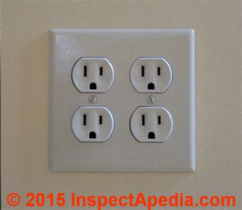 duplex electrical receptacle wire connections wiring details