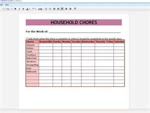 Household Roster Template by 50 Time Saving Docs Templates Techradar