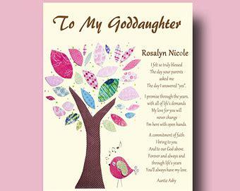 Confirmation Letter To Godchild Goddaughter Etsy