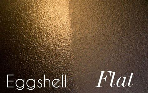 what color is eggshell painting a room a color here is the difference