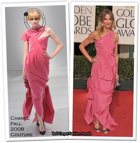 Catwalk To Photo Shoot Renee Zellweger In Chanel Couture by Runway To Golden Globes Carpet Carpet Fashion Awards