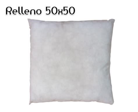 relleno para cojines de sofa relleno para cojines 50x50 de home