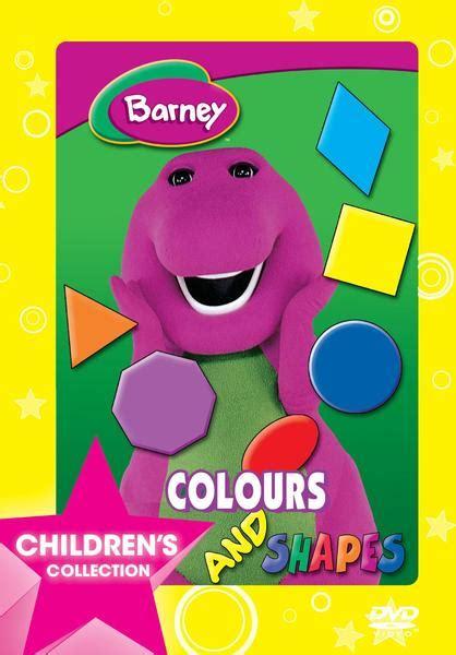colors dvd barney colours shapes dvd tv raru