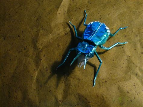 Origami Beetle - tiger beetle