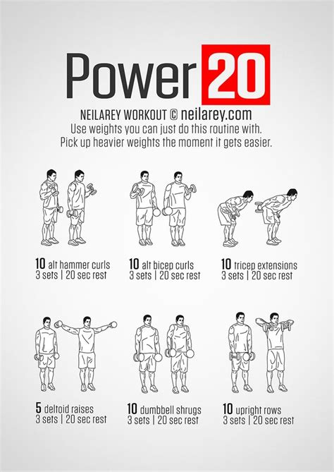 17 best ideas about dumbbell workout on