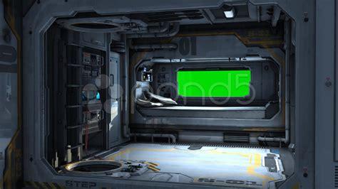 spaceship bedroom scifi spaceship bedroom background green screen