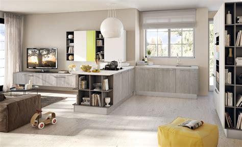 soggiorno  cucina  vista progettazione casa