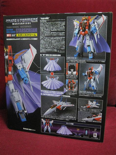 Takara Transformers Mp 11 Starscream 2017 Reissue With Coin 1 desmond collection takara tomy mp11 quot starscream quot reissue ver