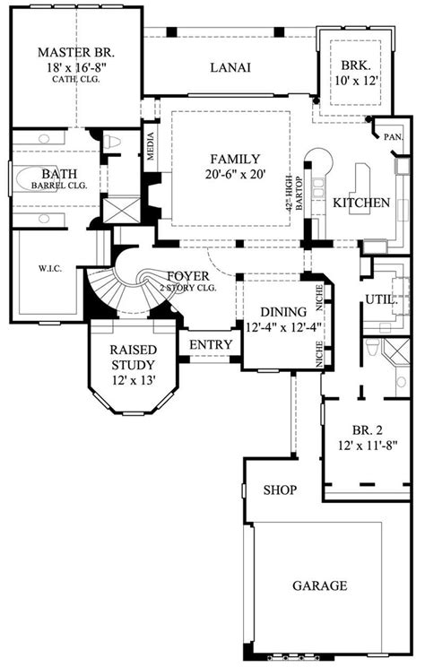 bright house plans florida style homes blend elegance contemporary chic and comfort