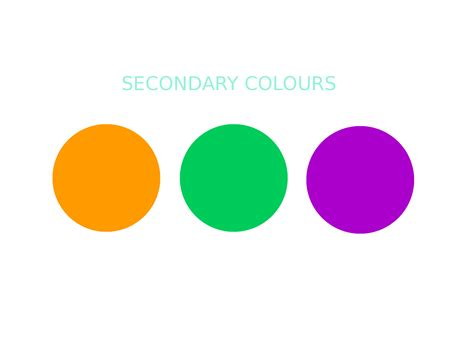 what is a secondary color lesson 7 colours my space