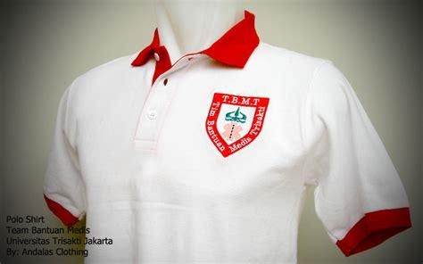Poloshirt Bordir Nama Polo Shirt Bordir Dada Bordir Tulisan bordir polo shirt trisakti 1 sablon kaos murah bordir kaos murah profesional garansi tidak