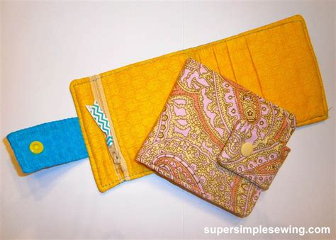pattern wallet wallet free sewing pattern and tutorial