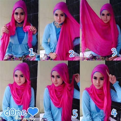 Tutorial Hijab Segi Empat Simple Untuk Jalan Jalan | 10 tutorial hijab simple untuk yang bisa kamu pakai untuk