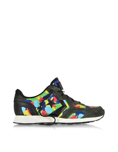 Converse Limited Edition Chair Print Shoe by Lyst Converse Auckland Racer Ox Camo Colors Print