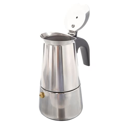 Sigmatic Coffee Maker 100 Ss 100ml stainless steel coffee maker percolator stove top pot